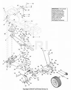 Mtd 13at604g755  2004  Parts Diagram For Drive  Controls