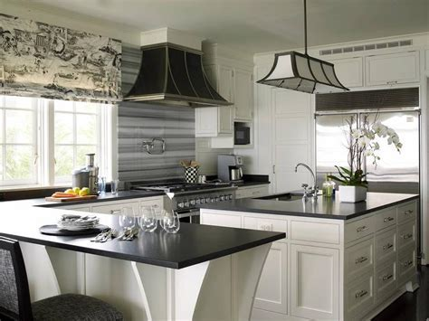 Stainless Steel Barrel Kitchen Hood   Cottage   Kitchen