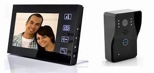 Visiophone Sans Fil Castorama : zoom sur l 39 interphone vid o sans fils somfy avec prise de ~ Dailycaller-alerts.com Idées de Décoration