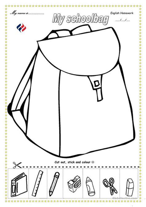 school objects worksheet for kindergarten my school worksheets for kindergarten my body