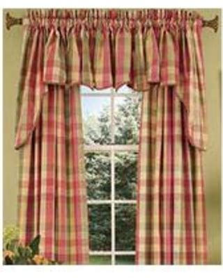check   major deals  country curtains moire