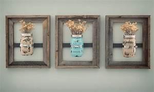 8 X 10 Mason Jar Frames With Painted Mason Jars Jars