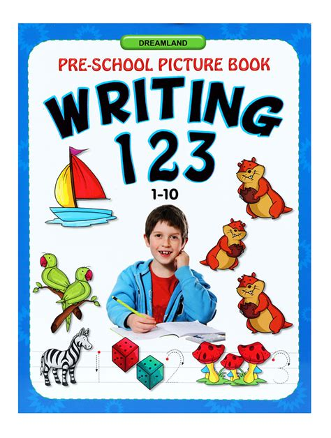 Buy Preschool Picture Book Writing 123 (1 To 10) Online In India • Kheliya Toys