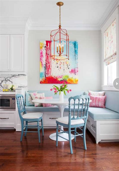 colorful kitchen table lovely colorful breakfast dining in the kitchen pastel