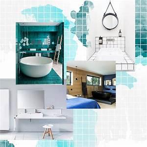 Nos idees avec des meubles de salle de bains design elle for Salle de bain design avec image encadree décoration