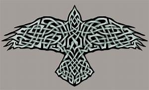 Raven Artwork Celtic