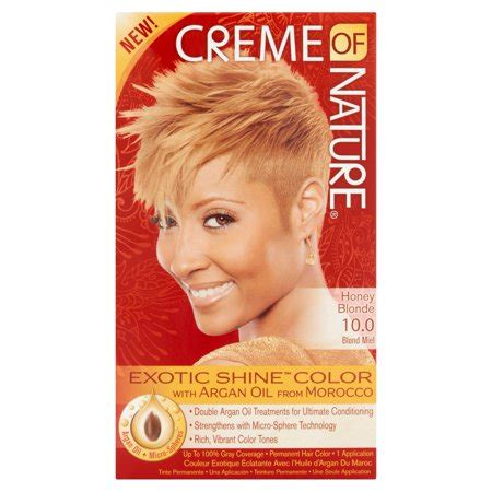 creme  nature exotic shine color hair color  honey