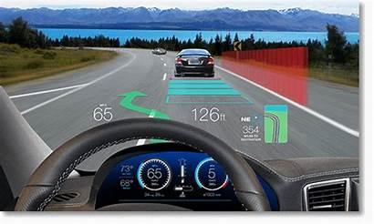 Automotive Ti Hud Display Head Windshield Ui