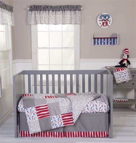 dr seuss baby bedding dr seuss cat and things 3 crib bedding set free