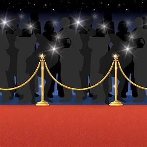 Teppich 2 X 2 M : wanddeko roter teppich mit paparazzi 1 22 x 15 2 m g nstig kaufen bei ~ Indierocktalk.com Haus und Dekorationen
