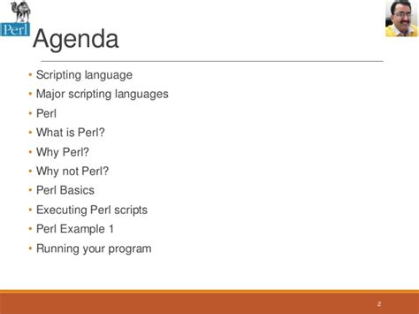 Session 1 Introduction To Perl Programming