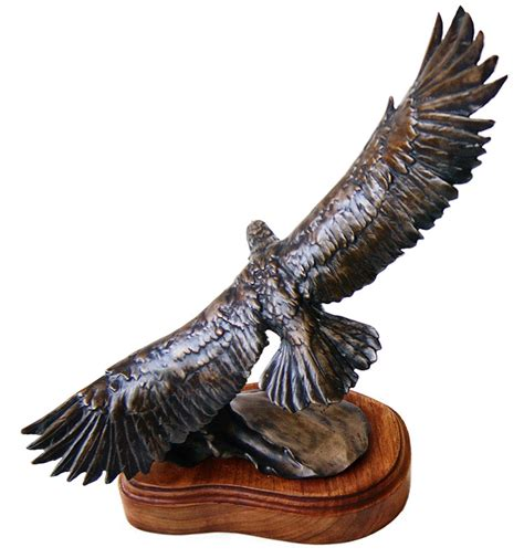 eagle sculptures for sale stephen leblanc quot flying high quot bronze eagle sculpture available now at sculpture collector
