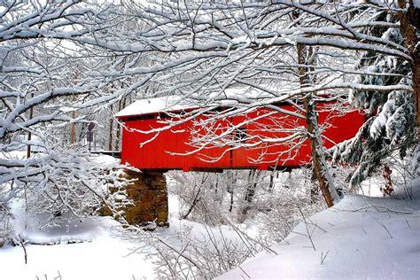 Slaughter House Bridge Northfield Falls Vermont John H