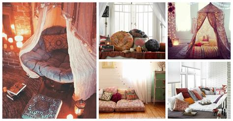 inspiring bohemian reading nooks    love