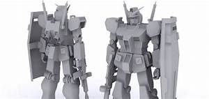 Do You Want To Create Your Own Gundam In 3d Software
