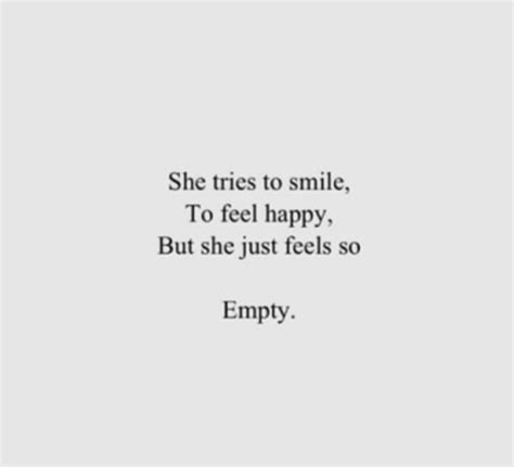 Quotes About Feeling Empty Tumblr
