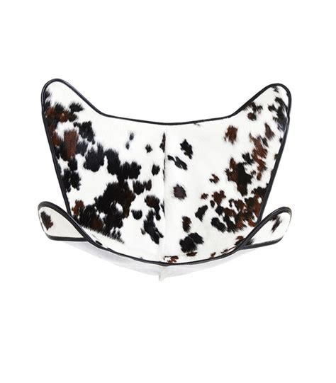 Cowhide Chair Covers by Bkf Chair Cover In Normande Cowhide