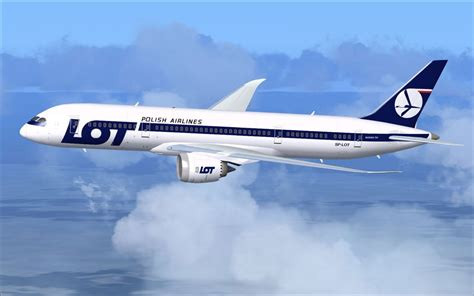LOT Polish Airlines Boeing 787-8 for FSX