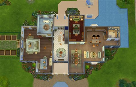 floor plan for sims 3 house house plans