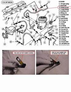 E450 Hard Fuel Line Leak