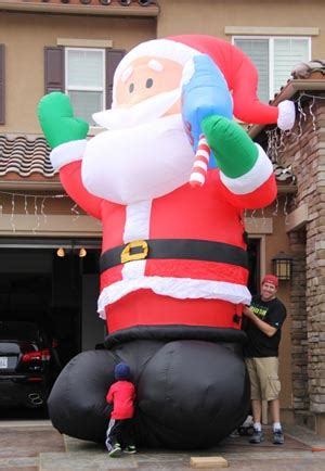 yolloy inflatable santa claus for sale
