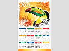 Descargar calendarios 2013 de colores