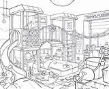Drawing Kitchen Bedroom Kid Lika Deviantart Getdrawings sketch template