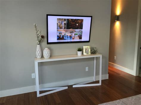 Under Cabinet Lighting Ikea by Table For Under Wall Mounted Tv Cepagolf