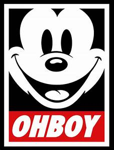 Pin Mickey Mouse Swag Obey Supreme on Pinterest