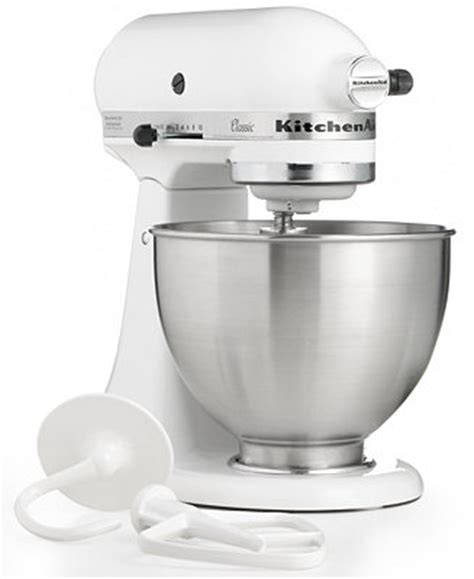Kitchenaid Mixer Rebate Macys by Kitchenaid K45sswh Classic 4 5 Qt Stand Mixer Small