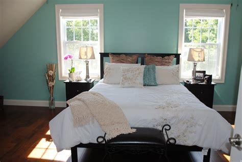 beachy master bedroom jamaican aqua  addition