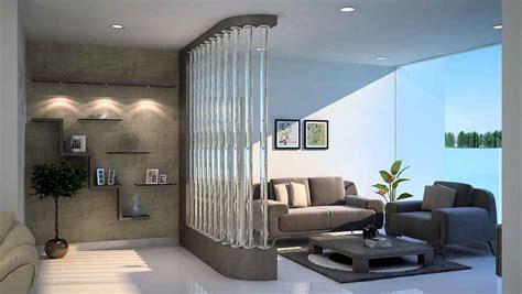 Living Room Interior Design Ideas India by Living Room Divider Design Ideas Hall Divider Partition