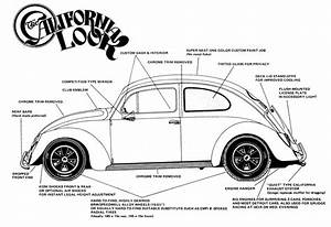 1970 Volkswagen Beetle Wiring Diagram