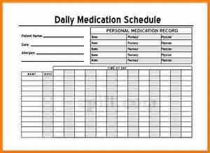 Medicine Chart For Elderly Free Printable Medication List Template Medication