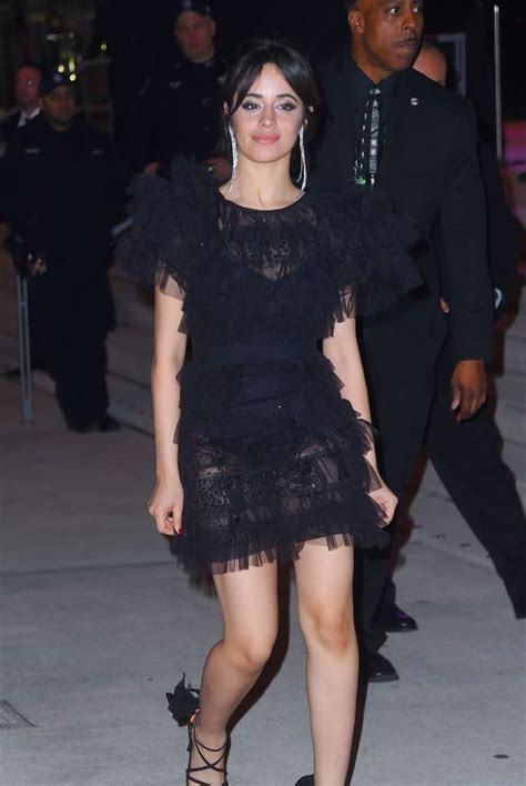Camila Cabello Heading Grammys After Party New