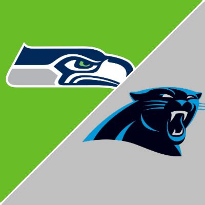 seahawks  panthers game summary november