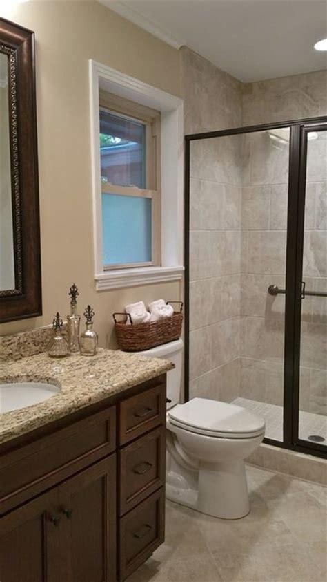 bathroom tile color ideas traditional 3 4 bathroom with kensington series beige