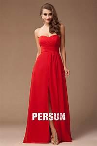Robe Rouge Mariage Invité : robe cocktail mariage rouge robe longue cocktail mariage adventech ~ Farleysfitness.com Idées de Décoration