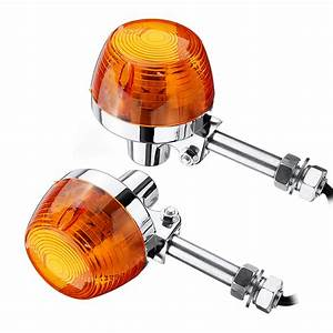 Motorcycle Turn Signal Lights For Honda C70 Ct70 Ct90
