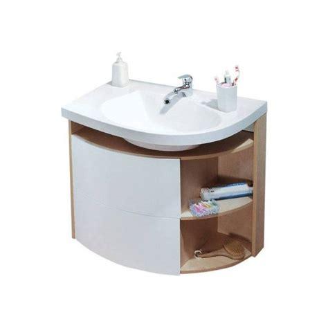 meuble de salle de bain asym 233 trique ravak rosa