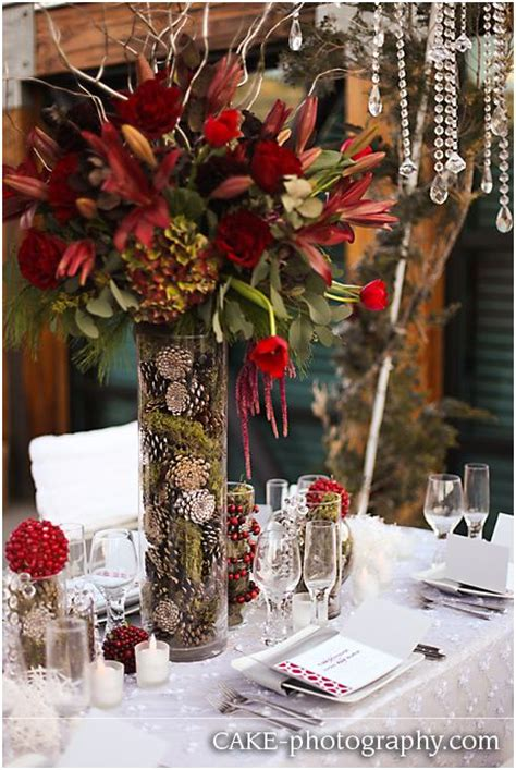 winter centerpieces ideas  pinterest winter