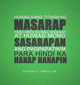 QUOTES ABOUT LOVE JOKES TAGALOG TUMBLR image quotes at ...