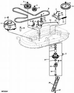 John Deere 115 Parts Diagram