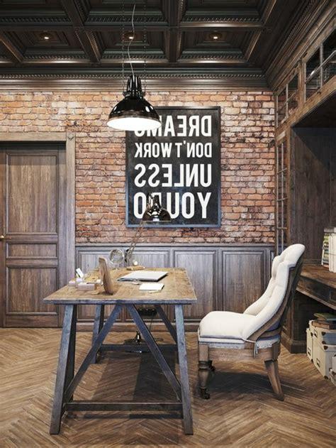 le de bureau industrielle idées de décoration d 39 un bureau style industriel
