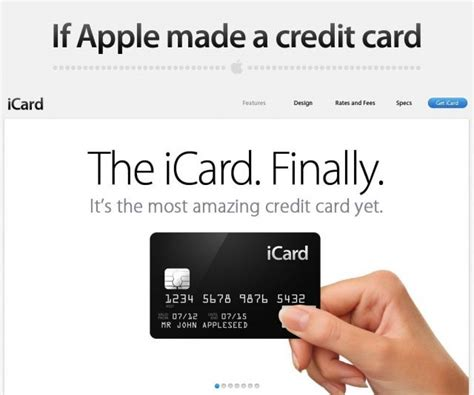 Like most store credit cards, the kohl's charge credit card comes with a significantly higher interest rate than good/excellent falling within this credit range does not guarantee approval by the issuer. This Is Exactly What A Credit Card From Apple Would Look Like Image   Cult of Mac