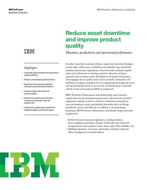 Predictive Analytics Developer Resume by Predictive Maintenance And Quality Ibm
