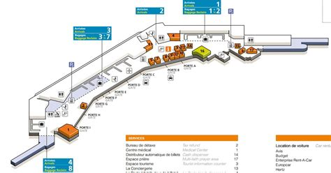 parking p7 orly terminal w orly ouest plan et parkings
