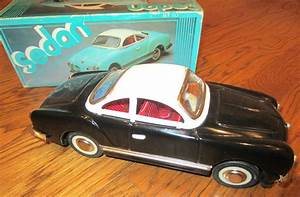 Sedan Friction Car Vw Karmann Ghia  Rare With Box