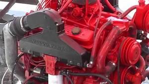 Rebuilt Volvo Penta V8 Marine Engine Ticking Over