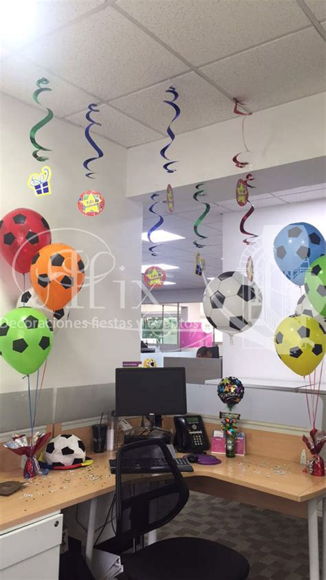 decoracin oficina cumpleaos decoraciones t